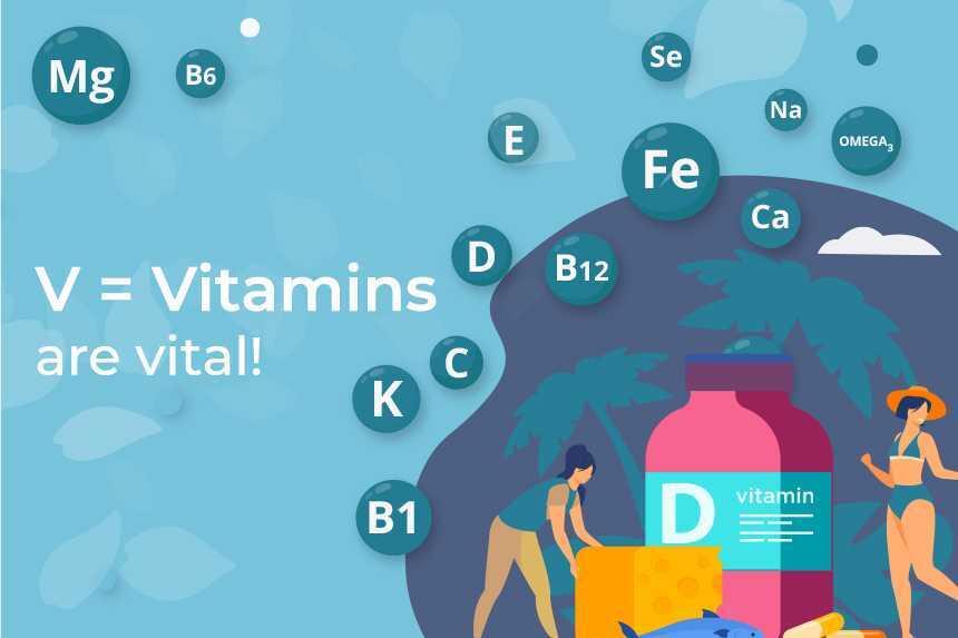 Vitamins are essential to managing menopause symptoms
